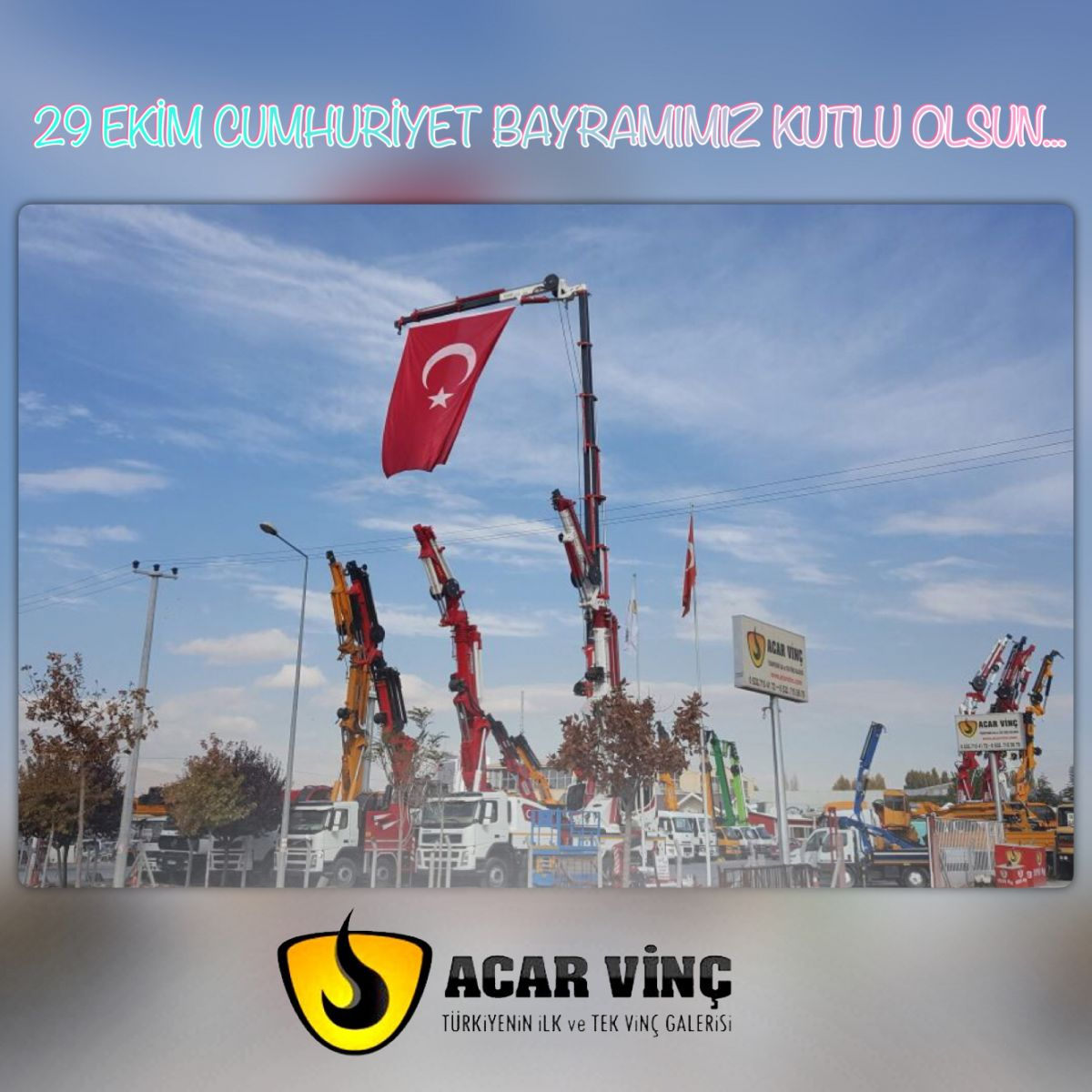 29 EKİM CUMHURİYET BAYRAMIMIZ KUTLU OLSUN..